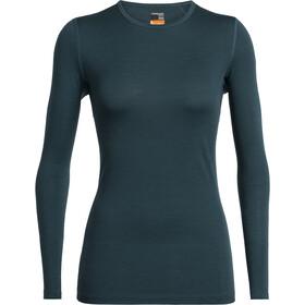 Icebreaker 200 Oasis LS Crewe Shirt Women nightfall